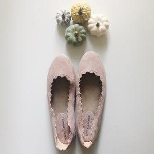 Audrey Brooke light pink flats